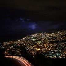 Ville de Saint Denis de nuit