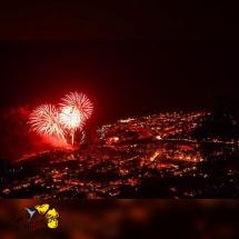 Feu d'artifice 14 juillet au Barachois