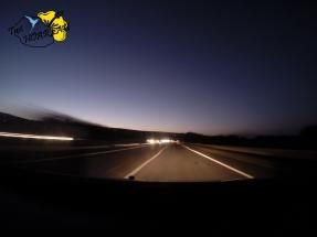 La nuit sur la route